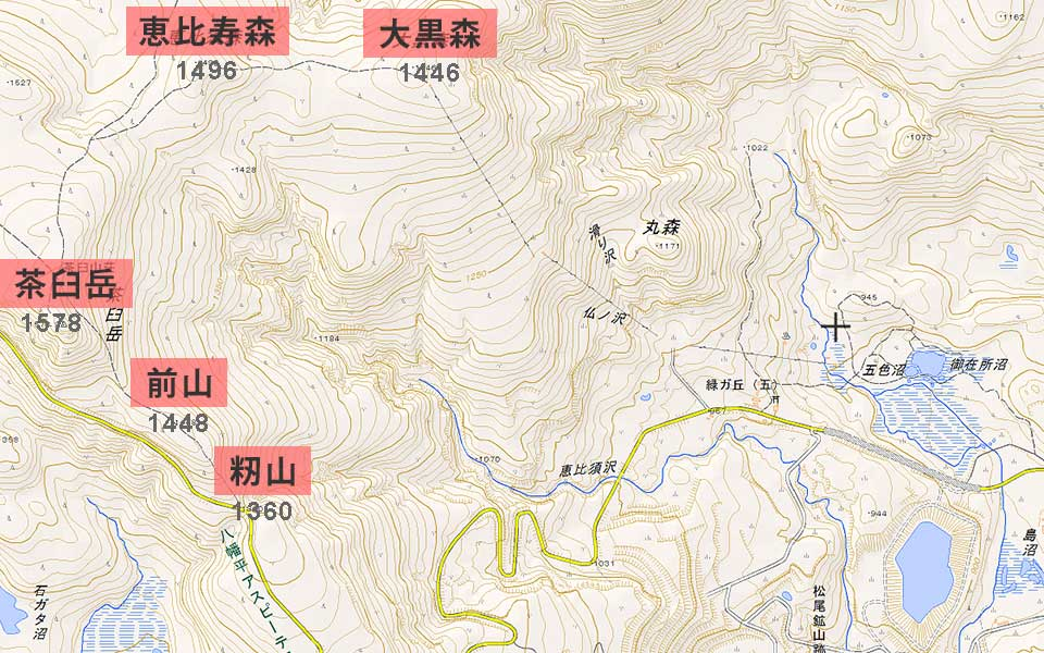 hachimantai_map